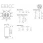 E83CC - Gold Pins