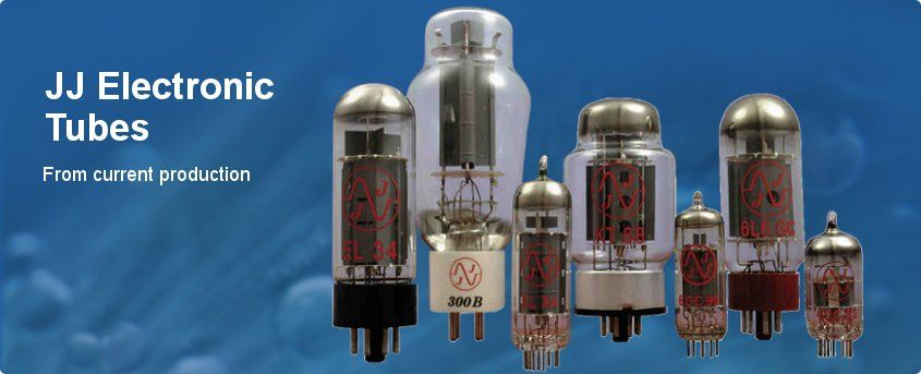 JJ-Electronic Tubes from current production